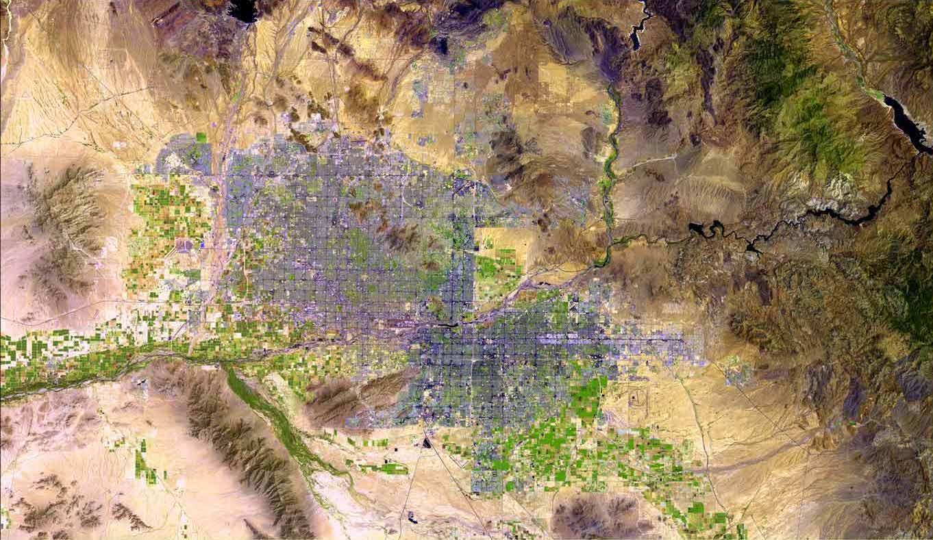 Phoenix Radar Map Phoenix radar map   Map of Phoenix radar (Arizona   USA)